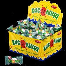 """Резинка жевательная """"Кислица"""", 3,5 г  с сахаром со вкусом тутти-фрутти"""