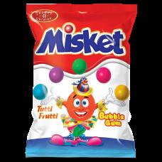 Резинка жевательная «Misket» 1кг с сахаром со вкусом тутти-фрутти вес.