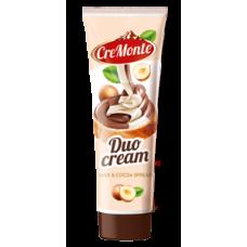 Шоколадная паста CreMonte Duo 350г