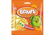 Мармелад жевательный БАМПI со вкусом апельсина в обсыпке (сэндвич) 75г