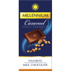 Шоколад молочный Favorite Caramel 100г