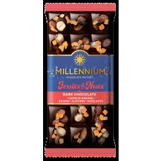Шоколад темный Fruits&Nuts с апельсиновыми цукатами 80г