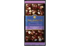 Шоколад молочный Fruits&Nuts с клюквой 80г