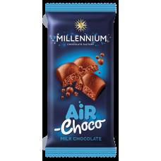 """Шоколад """"Millennium"""" пористый молочный, 80г*28шт"""