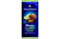 Шоколад темный Millennium Mousse лайм 135г