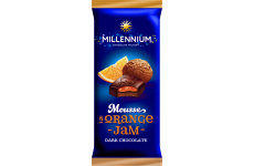 Шоколад темный Millennium Mousse апельсин 135г