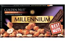 Шоколад темный Golden Nut с фундуком 100г