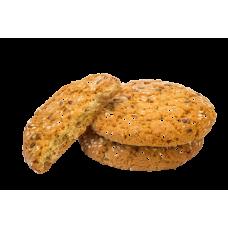 """Печенье овсяное 2,5 кг  """"С кунжутом и семенами льна"""" вес"""