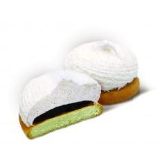 """Пирожные бисквитные 1,5 кг  """"С отд. """"Суфле"""", нач. со вкус. шоколада и кокос. стружкой"""" вес"""