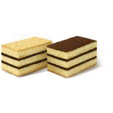 """Пирожные бисквитные 2,5 кг  """"С кремом со вкус. шоколада"""" вес"""