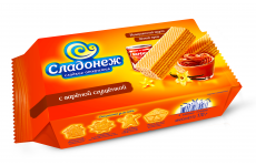 """Вафли """"Сладонеж"""" с вареной сгущенкой 170г"""
