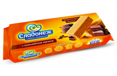 """Вафли """"Сладонеж"""" с шоколадным кремом 270г"""