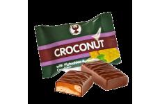 Конфеты глазир. 4кг  «Croconut» с фисташками и крекером с корп. из молочн. карамели весовой