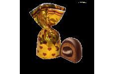 Конфеты глазир. 4кг  «Крем-де-Нуазон крем-брюле» с помадн. корп. весовой