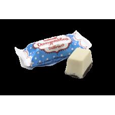 """Конфеты 1 кг (в уп 4 кг)  """"Йогуртовая"""" сливочная с молочным корпусом с глазир. донышком весовой"""