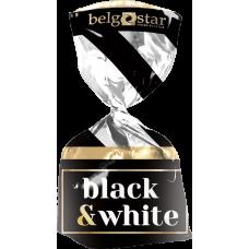 """Конфеты 1 кг (в уп. 8 кг)  """"Black&White"""" с крем. нач. в конд. глазури, вес"""